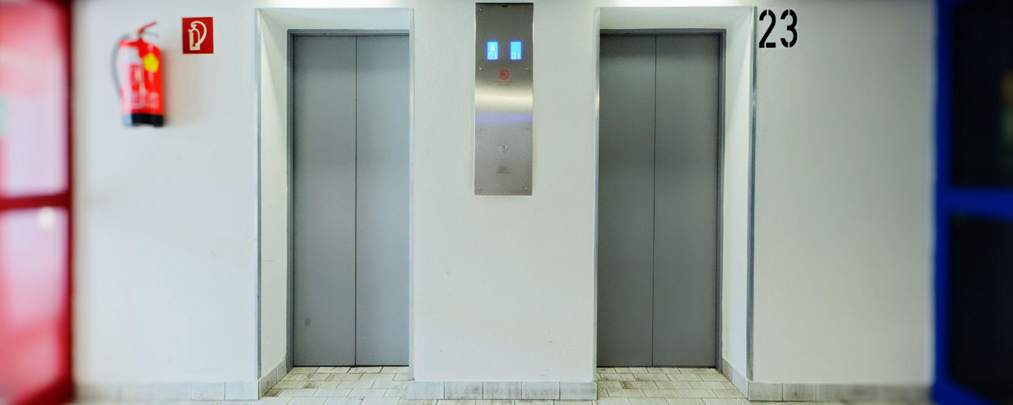 Aufzug Corona